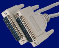 D-Sub Drucker Kabel 3m 1:1